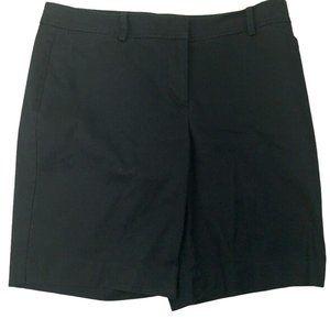 Talbots Womens The Perfect Black Bermuda Short 12P